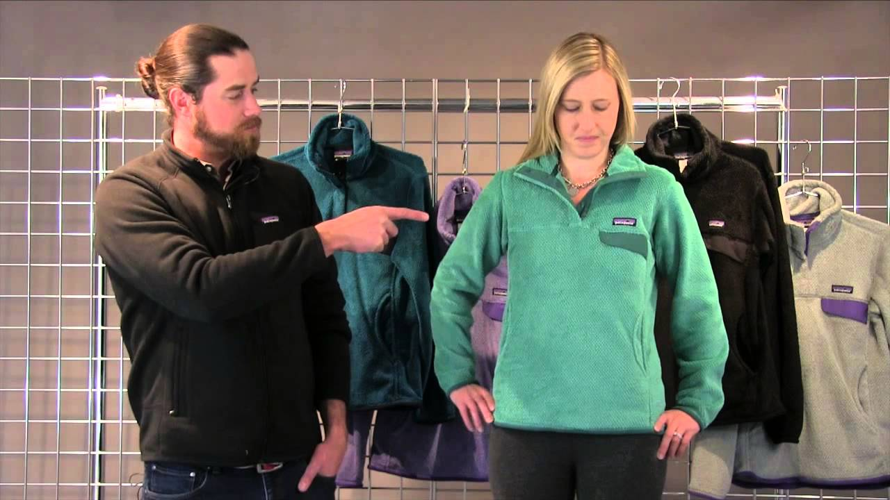 Patagonia Women's Re-Tool Snap-T Pullover 2015-2016 - YouTube