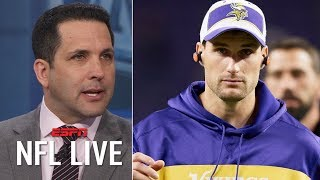 Can Kirk Cousins, Vikings be better in their second year together? | NFL Live