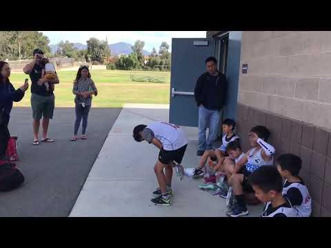 2018/11/17 Basketball Game at Los Alisos Intermediate School