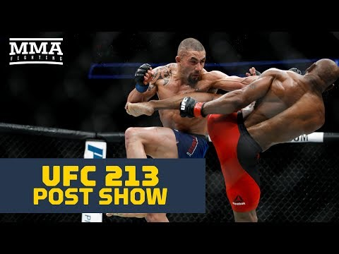 UFC 213 Post-Fight Show - MMA Fighting