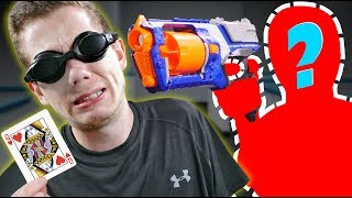 NERF Trouble in Mafia Town Challenge! [Ep. 6]