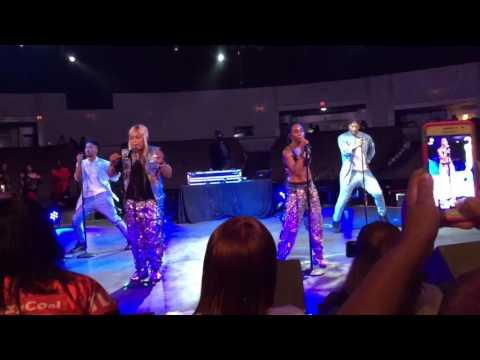 TLC concert diggin on you