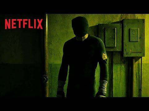 Marvel Daredevil / Escena de la pelea en el pasillo planos secuencia en series