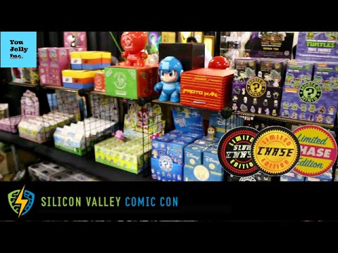 SVCC: Silicon Valley Comic Con Funko Pop Hunting SUPER RARE GRAIL SCORE, Toy Hunt Comics Tech