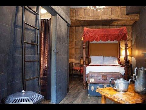 """โรงแรมอังกฤษปิ๊งไอเดีย!แต่งห้อง""""แฮร์รี่ พอตเตอร์"""""""