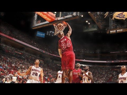 Ray Allen: Top 10 Dunks as a Miami Heat