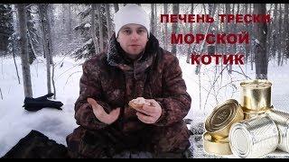 """Дегустация печени трески """"Морской котик"""". Лесной Путник"""