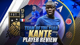 FIFA 18 TOTY 95 KANTE PLAYER REVIEW - TOTY KANTE REVIEW - BEST MIDFIELDER IN FIFA 18 ULTIMATE TEAM