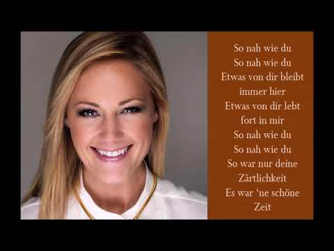 Helene Fischer So Nah Wie Du