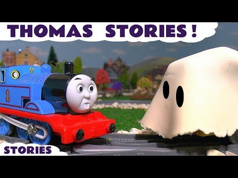 Thumbnail: Thomas and Friends Funny Pranks with Play Doh Stop Motion Toy Trains & Tom Moss TT4U