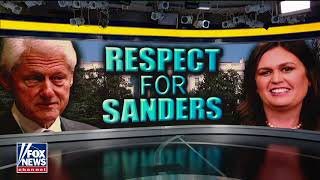 Bill Clinton: 'I Have a Lot of Respect' for How Sarah Sanders Handled 'Red Hen'