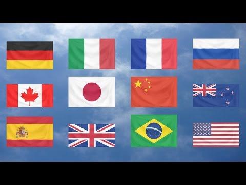 Flag Quiz, the World, Easy!