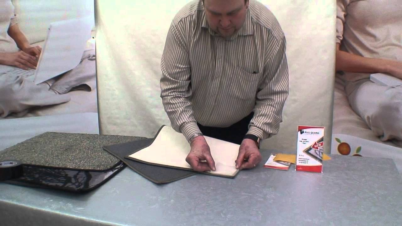 How To Stop Rug Corners And Edges Curling With Rugquard