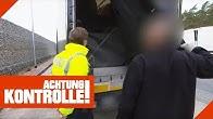 Lebensgefährlich: Ungesicherte LKW Ladung auf der Autobahn 1/2   Achtung Kontrolle   Kabel Eins