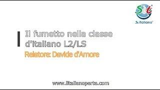 I fumetti nella classe d'italiano L2/LS (Webinar Sìt)