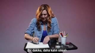 Kadinlardan Mukemmel Penisin Resmi çiz Dedik( Turkce Alt Yazili 18)