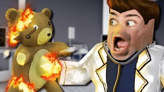 I gave this ROBLOX DOCTOR a surprise that he DIDN'T WANT...