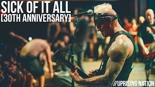 """Sick Of It All 30th Anniversary """"Uprising Nation"""" Live [Webster Hall]"""