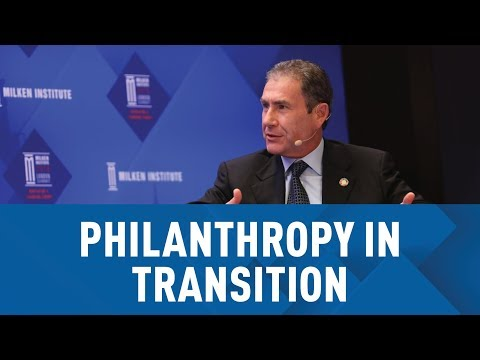 Philanthropy in Transition: Better Ways of Doing Good