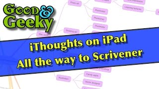 iThoughts to Scrivener