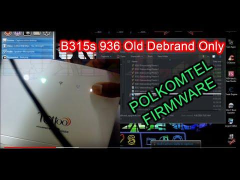 B315s 936 old Debrand  Full Step Tutorial (Full Admin)