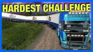 THE HARDEST CHALLENGE!! (Euro Truck Simulator 2)