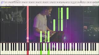 Хлопья летят наверх - FEDUK (Ноты и Видеоурок для фортепиано) (piano cover)