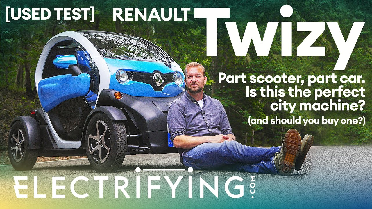 Renault Twizy used buyer's guide & review – Is this part-scooter, part car a winner? / Electrifying