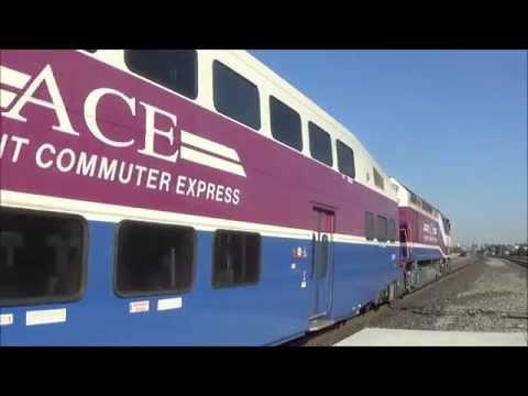 [HD] An Afternoon at Santa Clara (09/11/14) - UP SD60s, Express Trains, and More!