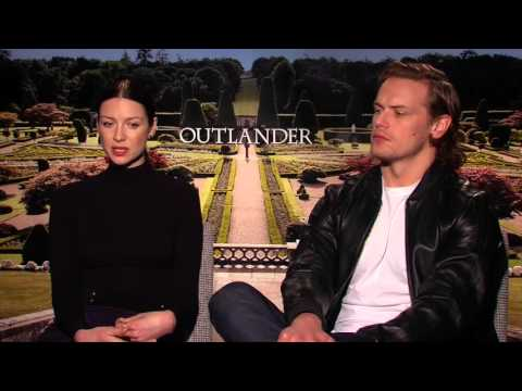 Outlander Interview: Caitriona Balfe, Sam Heughan on Claire and Jamie's  Stormy Relationship