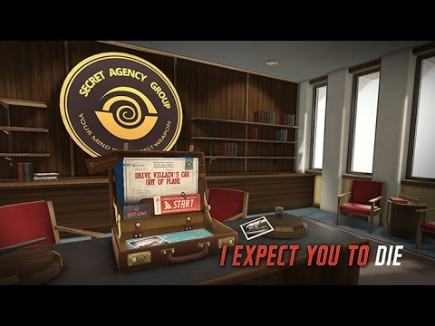 I Expect You to Die - PS VR / Oculus Rift - Virtual Reality