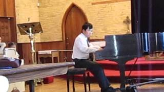 oscar Wang performs