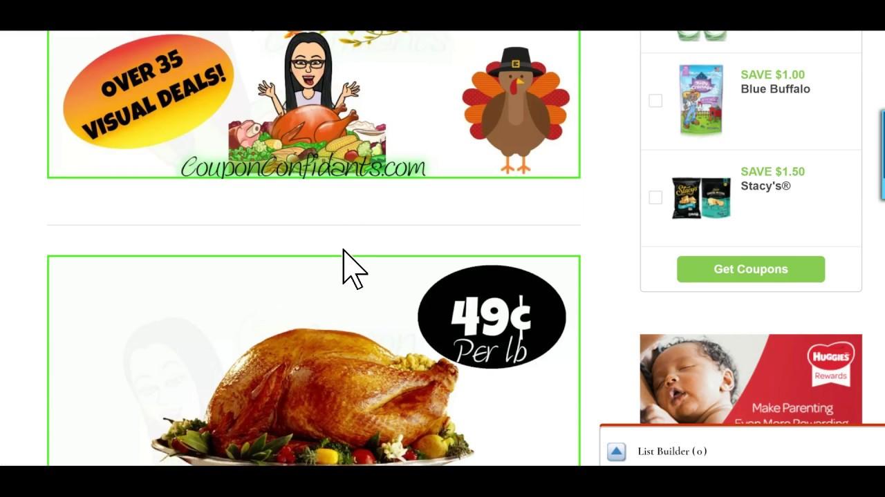 Publix Best Deals! 11/14-11/21 or 11/15-11/22 - YouTube