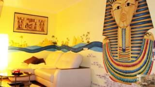 видео Египетский стиль в интерьере