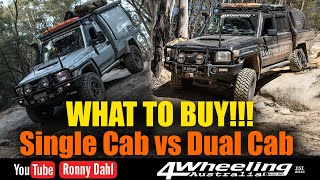 Single cab vs Dual cab UTE / Pickup Truck