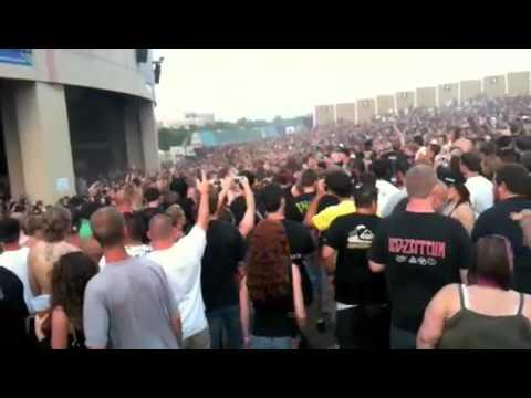 Wall of Death @ Killswitch Engage (Mayhem Fest 09')