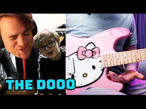 Playing Guitar On Omegle But I Pretend I'm A Beginner Reaction // The Dooo // Guitarist Reacts