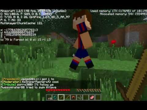 Minecraft The Hunger Games 002