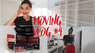 seeing my walk in wardrobe for the first time ever moving vlog 4 ad