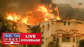 California Fires LIVE COVERAGE - Woolsey Fire, Camp Fire - 11/10/18