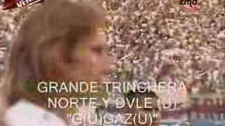GRANDE TRINCHERA NORTE -- vista dsd la cancha