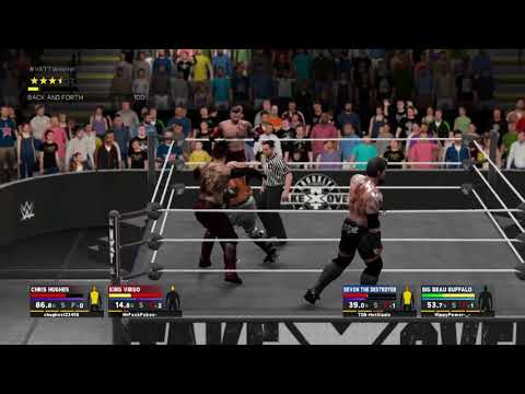 R.A.W NXT Take Over THE END - Sovereign vs Bloodline