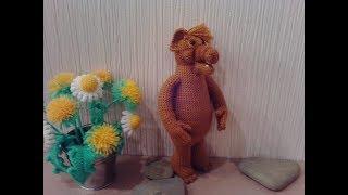 Альф, 3 ч.. Alf, p.3. Amigurumi. Crochet. В'язати іграшки амігурумі.