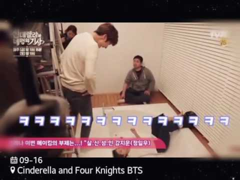 Behind The Scenes Cinderella and Four Knights P.2 👠