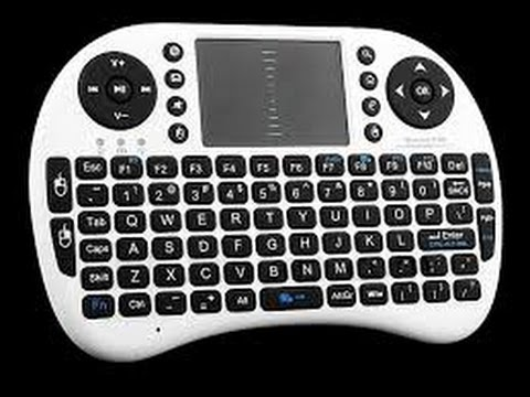 842e67d0a67 Rii Mini i8 2.4GHz Wireless Entertainment Keyboard Unboxing - YouTube