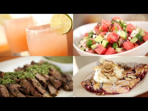 5 Summer Dinner Party Recipes