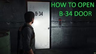 The Evil Within 2 - How To Open B-34 Door With Union Security Card In Auto Repair Shop (CHAPTER 3)