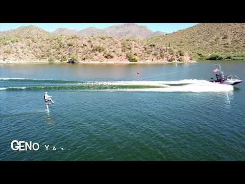 APACHE LAKE FLY-IN HYDROFOIL PRO COMPETITION DOUBLE BACK FLIP