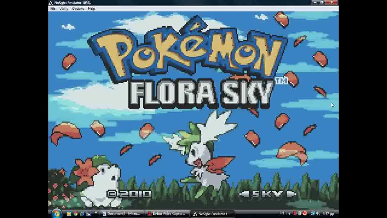 Play pokemon flora sky complement dex version online gba rom.