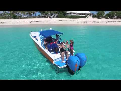Anguilla speed boat private charter 23.10.15